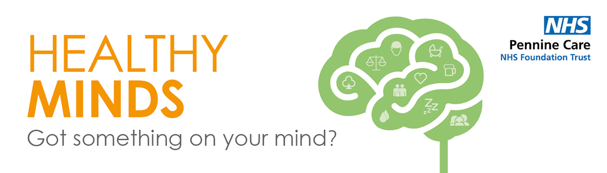 Healthy Minds web banner for CCG