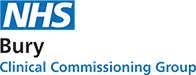 Bury Clinical Comissioning Group Logo