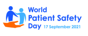 World Patient Safety Day logo, 17 September 2021